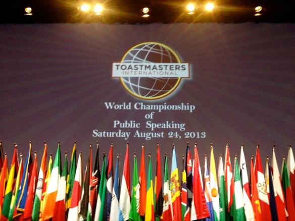 Toastmasters International Speech Contest 2013
