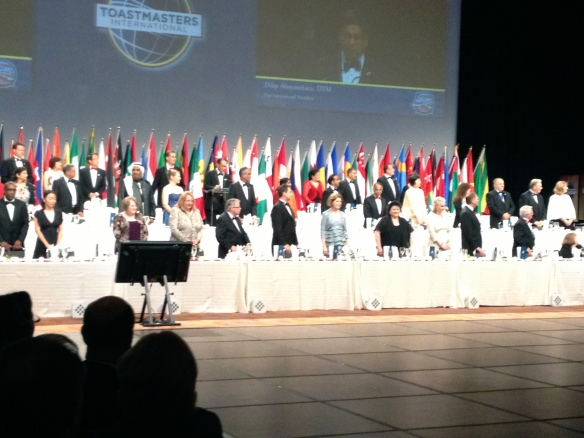 Toastmasters International Convention 2013
